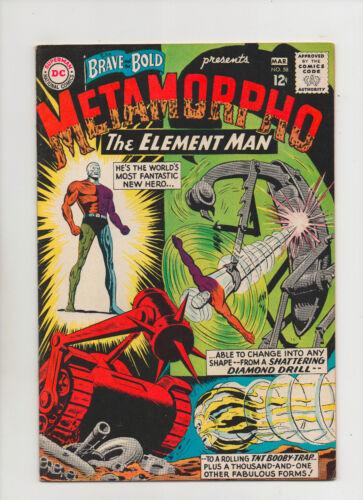 Brave & The Bold #58 - Metamorpho! - (Grade 7.5) 1965