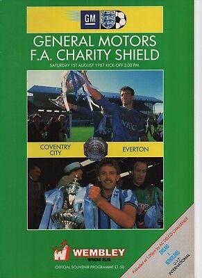 1987 CHARITY SHIELD COVENTRY v EVERTON