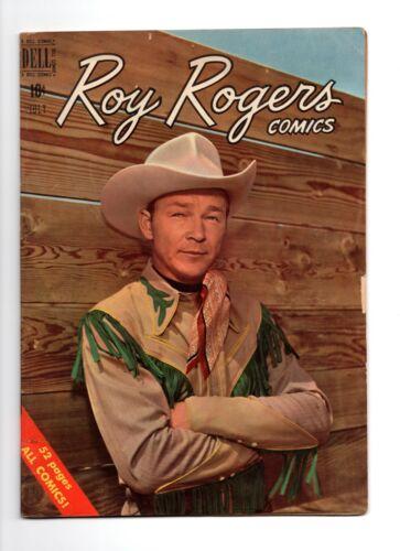 Roy Rogers Comics #31, 1950, Dell, photo cover