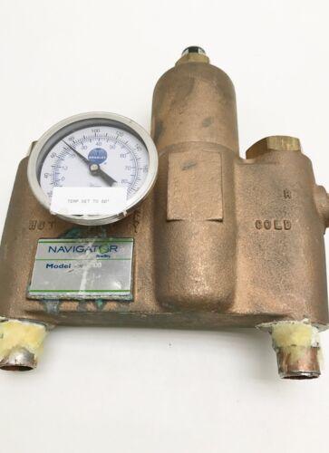 Bradley 2100 Emergency Fixture Thermostatic Mixing Valve #7819