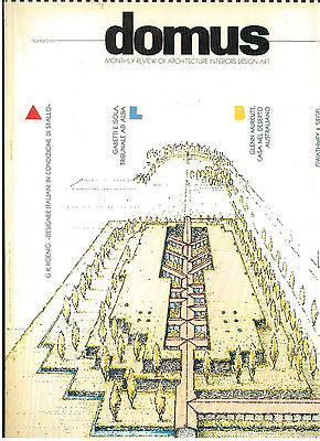 DOMUS 691 FEBBRAIO 1988 RIVISTA ARCHITETTURA URBANISTICA DESIGN