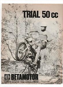 Pubblicita-1972-MOTO-MOTOR-TRIAL-50-BETAMOTOR-old-advertising-publicite-werbung