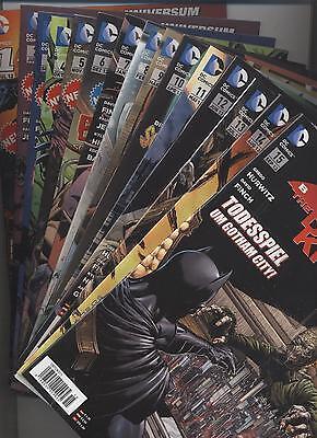 BATMAN THE DARK KNIGHT # 0,1-31 KOMPLETT - NEUE DC-UNIVERSUM NEUSTART - PANINI