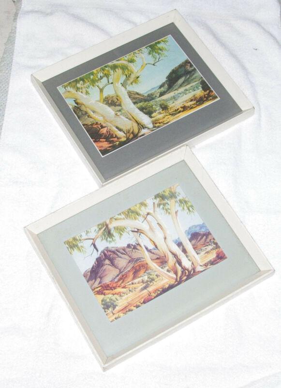 Two vintage framed Albert Namatjira prints