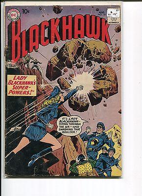 BLACKHAWK 151 VG-  LADY BLACKHAWK COVER/STORY   1960