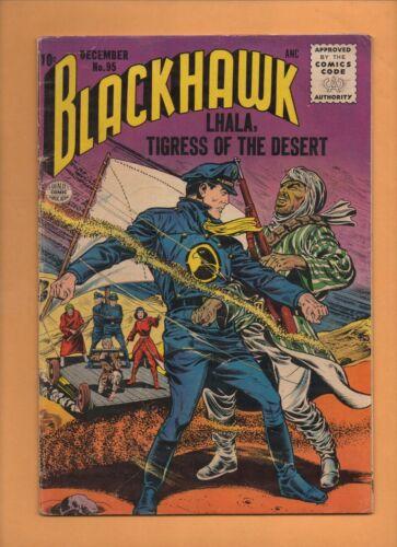 Blackhawk #95 DC Comics 1955 VG