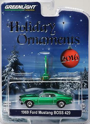 Greenlight 1969 Ford Mustang Boss 429 - Holiday ornaments - 1:64