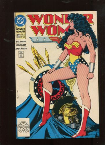 WONDER WOMAN #72 (7.0) CLASSIC COVER!