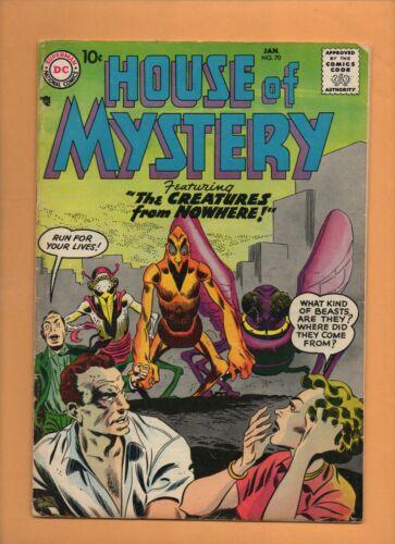 House of Mystery #70 DC Comics 1958 Jack Kirby! VG