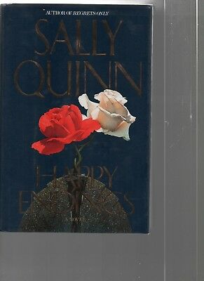 Happy Endings   Sally Quinn   Hc   1991   Simon   Schusters   0 671 64941 8