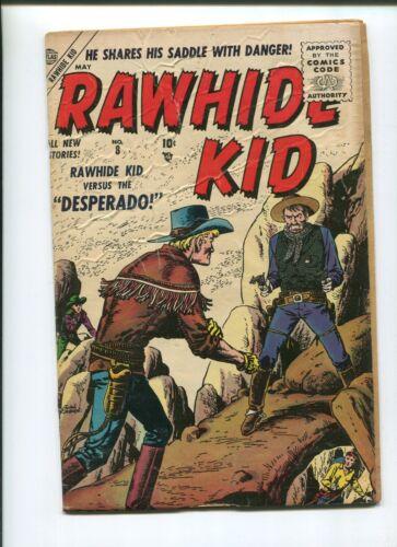 RAWHIDE KID #8 (3.5) 1956