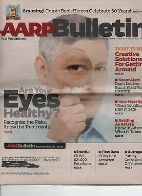 Aarp Bulletin   May 2013   Healthy Eyes  Creative Travel Solutions  Scam Alert