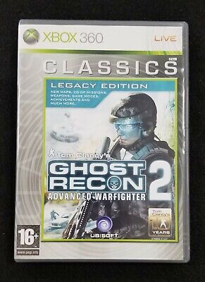 Tom Clancy's Ghost Recon Advanced Warfighter 2 **XBOX 360**USED** PAL Version for sale  Shipping to India