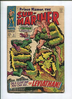 Prince Namor Sub-Mariner #3 (4.0) The Leviathan - 1968