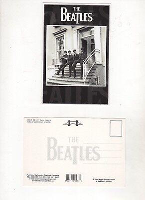 Beatles (Walking Down Steps Abbey Road) 1964 National Portrait Gallery Post Card Walking Down Steps