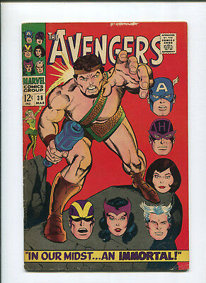 Avengers #38 (4.5) In Our Midst An Immortal Hercules - 1966