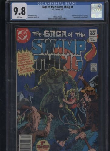 Saga of the Swamp Thing #1 CGC 9.8 DC Comics 1982