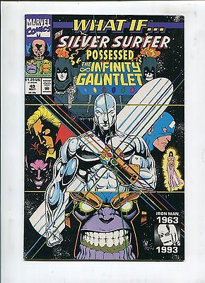 WHAT IF...? #49 - SILVER SURFER POSSESSED THE INFINITY GAUNTLET!? - (9.2)