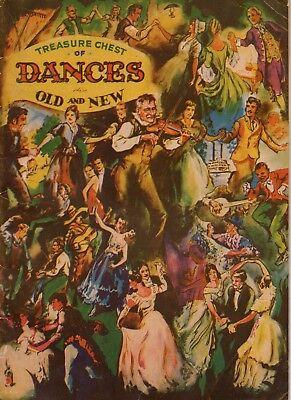 Treasure Chest of Dances Sheet Music book 1937  - Music Treasures Catalog