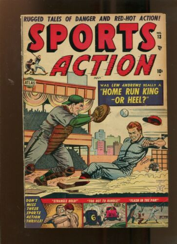 SPORTS ACTION #13 (6.0) HOME RUN KING! 1952