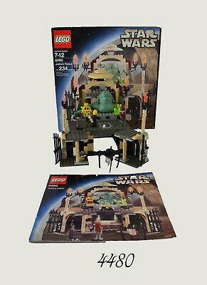 Lego Star Wars Jabba's Palace (4480) Box/Instructions Missing Parts USED
