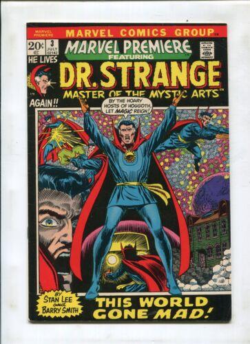 MARVEL PREMIERE #3 (7.5) DR. STRANGE BEGINS KEY!