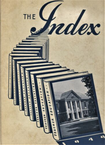 """1949 """"The Index"""" - Illinois State Normal University Yearbook - Normal, Illinois+"""
