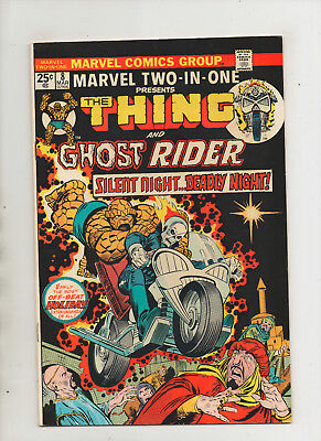 Marvel Two-In-One #8 - Thing & Ghost Rider - (Grade 8.5) 1975