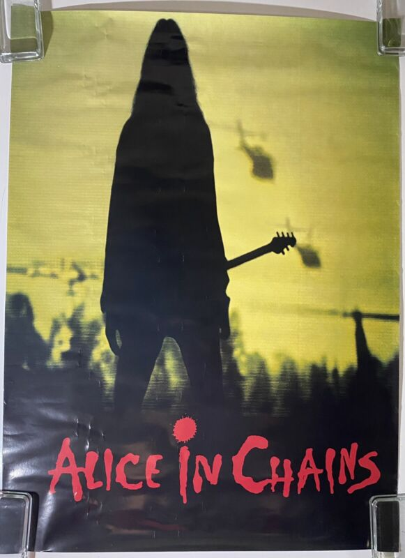 ALICE IN CHAINS Rooster 1993 US Columbia PROMO Only POSTER Dirt CANTRELL Staley