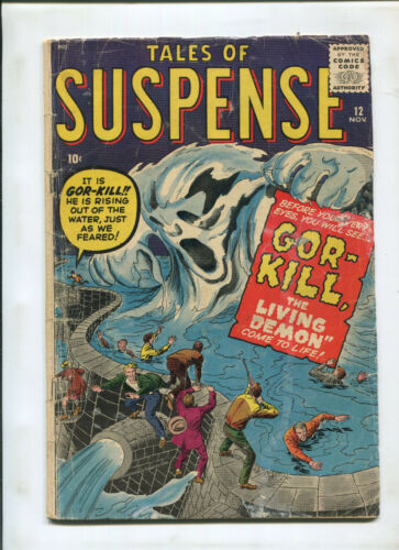 TALES OF SUSPENSE #12 (3.0) GOR-KIL THE LIVING DEMON!