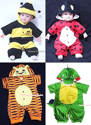 Halloween Newborn Baby Toddler Costume One Piece For Party / Present NB-18Month - Newborn Costumes For Halloween