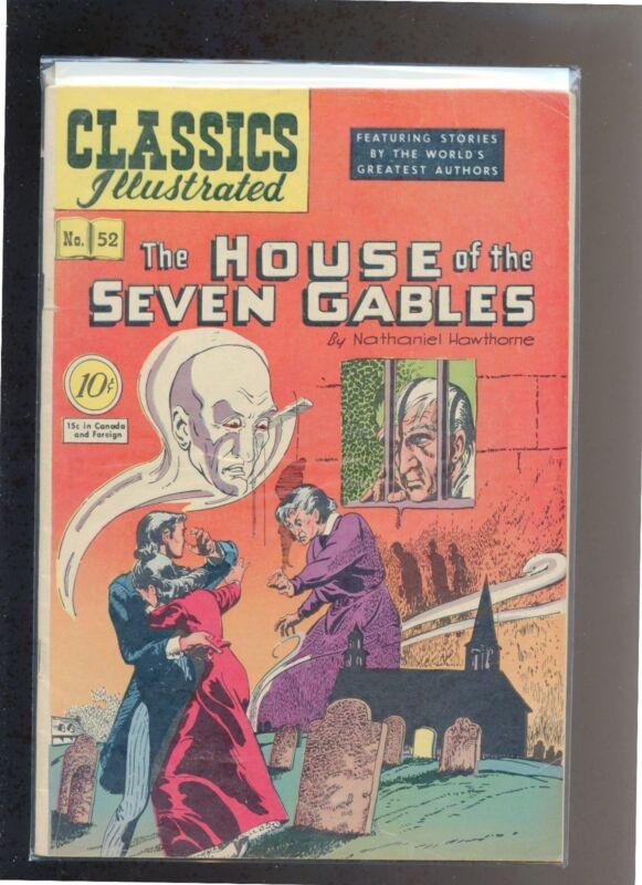 Classics Illustrated #52 HRN 53 (Original) FN- Harley Griffiths