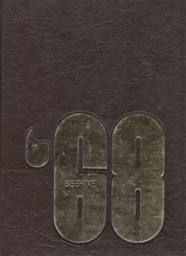 """1968 """"Beehive"""" - Radford University Yearbook - Radford, Virginia"""
