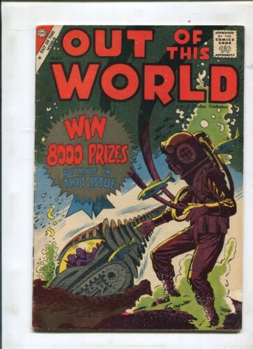 OUT OF THIS WORLD #12 - DITKO COVER! - (5.0) 1959
