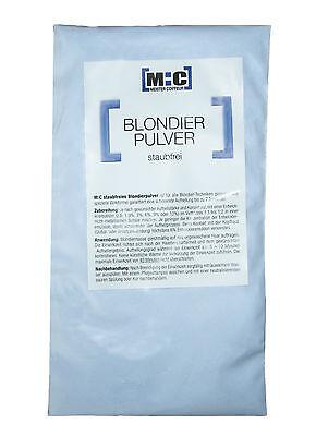 MC Blondierung Blondierpulver 500 g  + Oxydant 12 % 1000ml  #0  (€8,53/1000g)