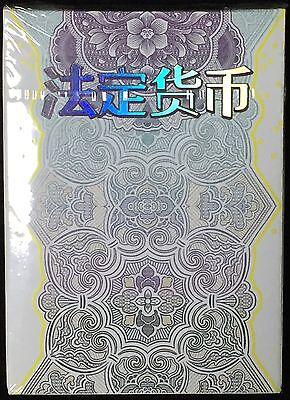 Legal Tender Chinese Edition Playing Card Deck~Jackson Robinson~Ships Free