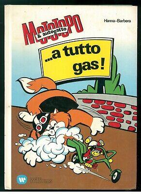 HANNA BARBERA MOTOTOPO & AUTOGATTO ...A TUTTO GAS! WILLIAMS 1974 CARTONI ANIMATI