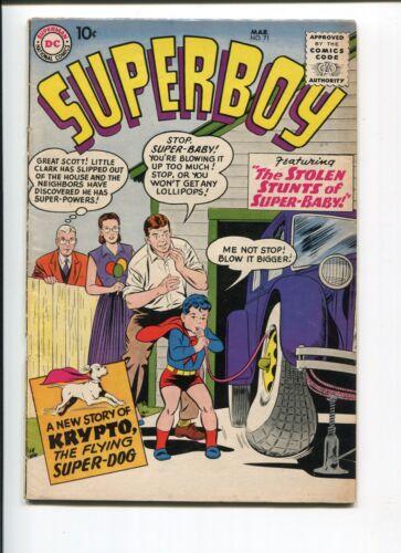 SUPERBOY 71 VG  SWAN 1958