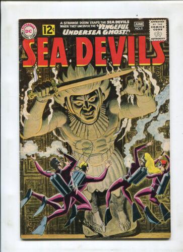 SEA DEVILS #5 (6.0) VENGEFUL UNDERSEA GHOST!
