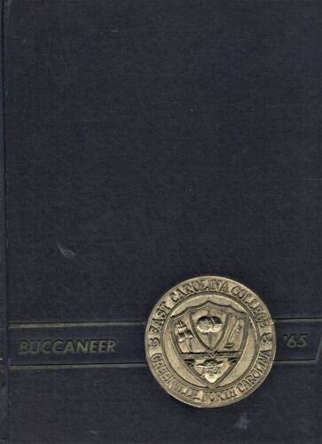 "1965 ""Buccaneer"" - East Carolina University Yearbook - Greenville, NC"