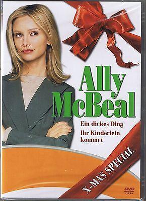Ally McBeal X-Mas Mini Movie 1 NEU OVP Sealed