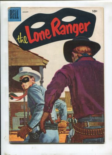 THE LONE RANGER #91 (6.0) CLASSIC PAINTED COVER!