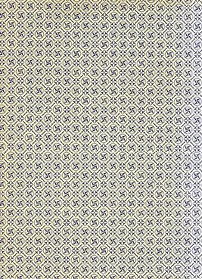 Carta Varese / Überzugspapier / Italienisches Buntpapier 50 x 70 cm blau