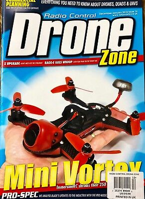 DRONE ZONE DECEMBER/JANUARY 2018 Cause c 14