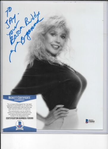 MORGANNA Autographed  8 X 10  Photo auto  certified by Beckett