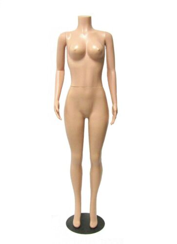 BRAZILIAN FEMALE MANNEQUIN WITH ARMS HEAVY DUTY PLASTIC BIG BOOTY