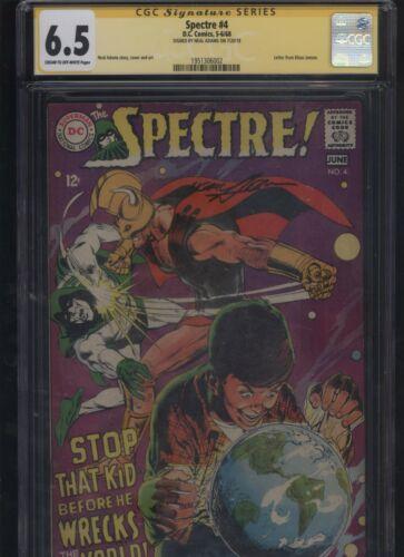 Spectre #4 CGC 6.5 SS Neal Adams 1968 signature signed