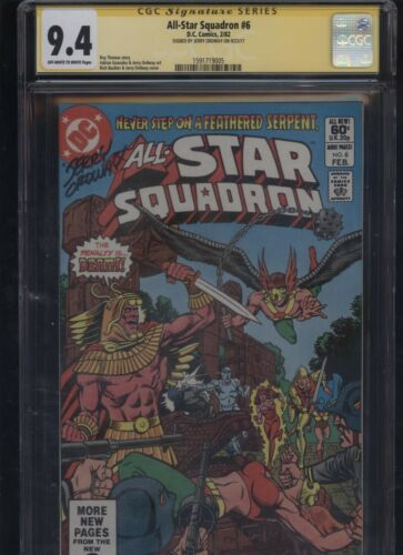 All-Star Squadron #6 CGC 9.4 SS Jerry Ordway 1982