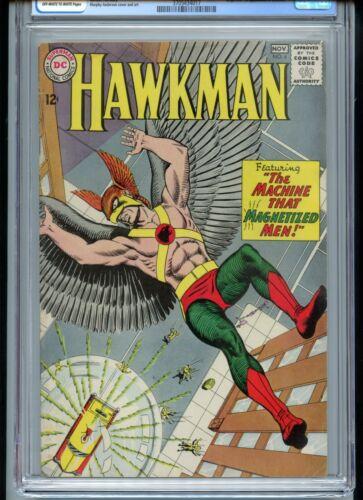 Hawkman #4 CGC 6.5 OWTW Pages 1st Zatanna