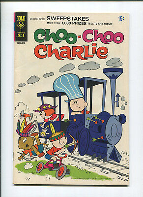 Choo Choo Charlie #1 (8.0) Gold Key - 1969